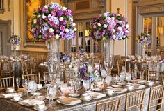 A garden inspired design of hydrangeas, clematis, phlox...and so much more!