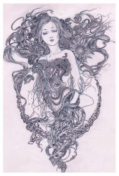 Kai Fine Art is an art website, shows painting and illustration works all over the world. Arte Horror, Horror Art, Art Sketches, Art Drawings, Illustrations, Illustration Art, Creepy Art, Gothic Art, Surreal Art