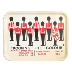 Trooping the Colour tray.
