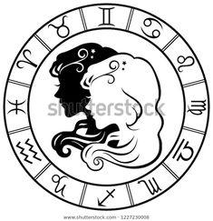Стоковая векторная графика «Gemini Horoscope Zodiac Sign Silhouette Isolated» (без лицензионных платежей), 1227230008 Horoscope, Gemini, Zodiac Signs, Gatos, Twins, Star Constellations, Horoscopes, Twin, Zodiac Mind