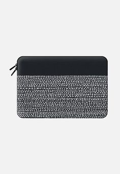 Riverside Black Macbook Air 13 sleeve by Jacqueline Maldonado | Casetify