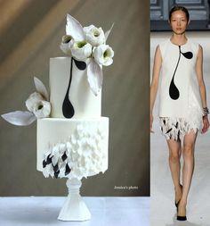 FASHION WEDDING CAKE - Cake by Jessica MV