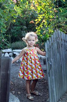 INSTANT DOWNLOAD Harper Reversible Dress Sizes by sewsweetpatterns