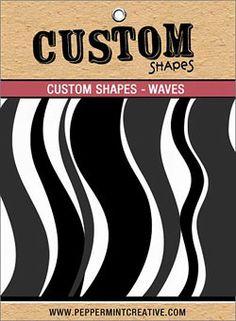 Cindy's Spotlight on Custom Shapes: Waves