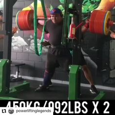 @jezzauepa is a pure squat specialist!  Follow @strong_andpowerful for more content like this  Follow @strong_andpowerful for more content like this  #Repost @powerliftinglegends • • • • • • @jezzauepa one of the heaviest doubles in just sleeves!! 🤯 & he did the 405kg front squat the next morning 👀 #BEBEW8 @powerlift Front Squat, Squats, Pure Products, Workout, How To Plan, Strong, Content, Sleeves, Work Outs