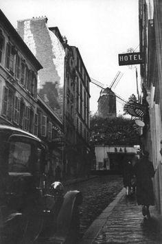 Man Ray, Le Moulin de La Galette ,Paris, France