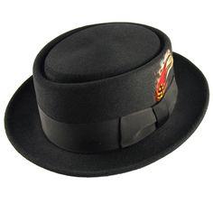 Bailey Hats Jett Pork Pie Hat
