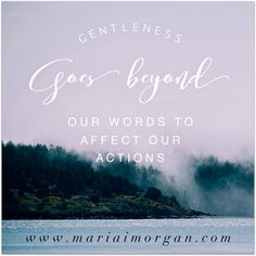 Do your actions match your words? http://www.mariaimorgan.com/actions/