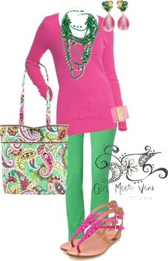 Tutti Frutti Fashion | Girl Meets Vera | Vera Bradley Blog