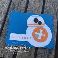 Carolina Evans - Stampin' Up! Demonstrator, Melbourne Australia: I'm a Star Wars fan! Punch Art Creations
