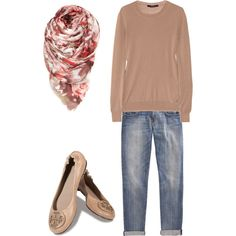 My first outfit created on Polyvore!!!