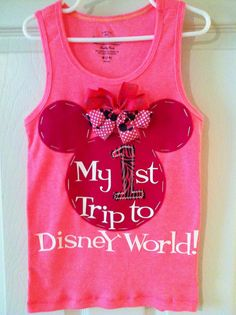 My First 1st Trip to Disney World Shirt on Etsy, $19.99