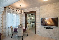Деревянный коттедж в традиционном русском стиле | Дома из оцилиндрованного бревна | Журнал «Деревянные дома»
