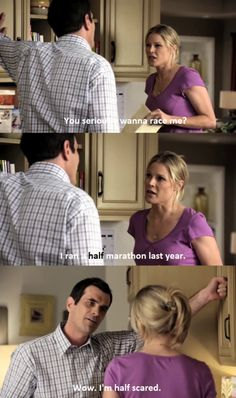 Modern Family, I feel like I should start watching this show lol