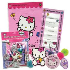 Hello Kitty   Party Pack  from Windy City Novelties