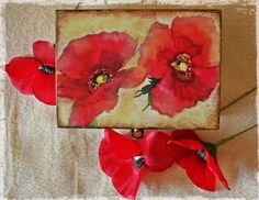 Casket with poppies :)