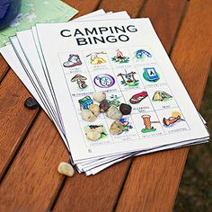Party of the Month: Trailblazing Bash Camping has reinvented itself and is now more inviting to even the absolute most glamorous, high. Camping Bingo, Camping Parties, Camping Games, Camping Themed Party, Camping Store, Scout Camping, Beach Camping, Camping Equipment, Tent Camping
