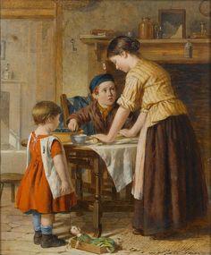 William Hemsley --- Baking day
