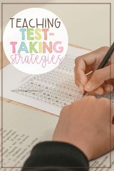 When it comes to testing, students don't always know what to do to help them be successful. Check out teaching these test-taking strategies before the test! Test Taking Skills, Test Taking Strategies, Vocabulary Strategies, Teaching Strategies, Teaching Tips, Vocabulary Games, Fun Classroom Activities, Spelling Activities, Therapy Activities
