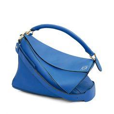Loewe Puzzle - PUZZLE LARGE BAG Electric Blue