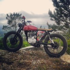 CooL Honda CG125 Bratstyle by TEBmotorcycle