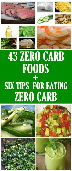 low-carb diet foods