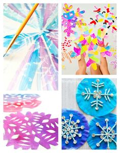 Arty Crafty Kids   Art   12 Stunning Arty Crafty Snowflakes   A stunning collection of 12 Arty Crafty Snowflakes to try this Winter. Presenting a variety of techniques, from an easy winter craft to something more challenging for older kids!