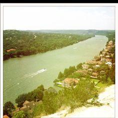 Lake Austin in Austin, TX