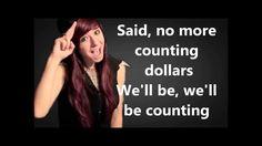 Christina Grimmie - Counting Stars Lyrics (One Republic)