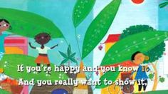 If you are happy and you know it ... Multicultural video song
