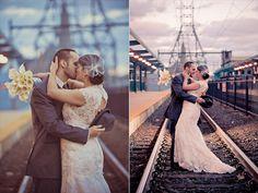 LOVE. Retro Philadelphia Real Wedding (photo: BG Productions Photography & Videography)