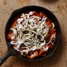 Chipotle Chilaquiles | Rick Bayless loves how Mexican chilaquiles use up leftovers like tortillas, chiles, chicken and cheese in this simple recipe for home cooks.