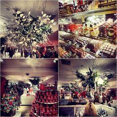 Harrods Food Hall at Christmas