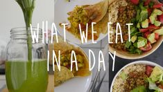 Cam and Nina Food Tips: including indian food, porridge, green smoothies, rice :)