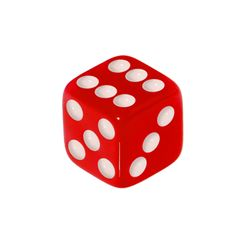 5mm Radical Red Dice Replacement Ball | Body Candy Body Jewelry