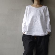 loose linen blouse shirt  long sleeve  autumn AOLO255 by Aolo, $52.00