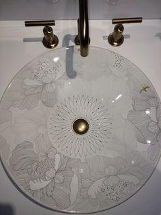Kohler Artist Editions - Empress Bouquet Lavatory