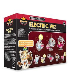 This Electric Whiz Science Kit is perfect! #zulilyfinds