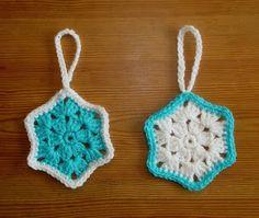 marianna's lazy daisy days: Easy Snowflake Christmas Decoration