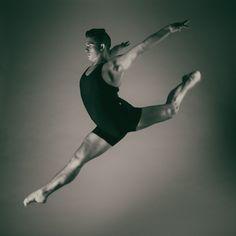 Photography. Portrait.  Studio work.  Dancer.