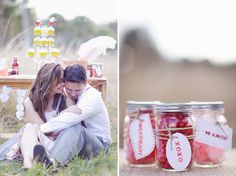 Valentines Day....using the mason jar idea for candy this year :)