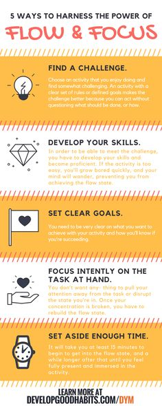 Flow and focus to get things done. | Productivity | GTD | Success | Mental organization  | Self Improvement | Self Helphttp://www.developgoodhabits.com/declutter-your-mind/