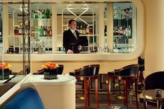 Our 15 Favorite Hotel Bars In The World — Cheers!  #refinery29: the American Bar at the Savoy, London