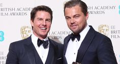 Tom Cruise Congratulates Leonardo Dicaprio At BAFTAs 2016!...: Tom Cruise Congratulates Leonardo Dicaprio At BAFTAs 2016!… #TomCruise