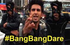 Ranveer Singh is known to be one of the most notorious people from the Bollywood industry, and he was dared by none other than the former Greek God Hrithik Roshan, to accomplish the #bangbangdare. Now, Ranveer Singh has answered Hrithik back, and completed his dare, in style.
