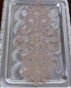 This Pin was discovered by suz Crochet Unique, Form Crochet, Crochet Motif, Irish Crochet, Crochet Lace, Needle Tatting, Needle Lace, Lace Patterns, Crochet Patterns
