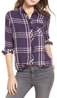Rails Hunter Plaid Shirt. affiliate #plaid #everdaywear #fallfashion #nordstrom