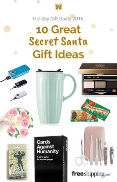 These are Secret Santa gifts that pretty much anyone will love!
