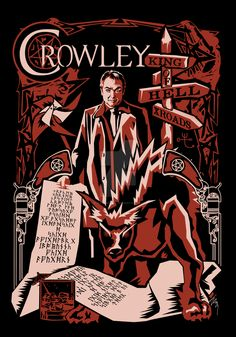Crowley by Ryleh-Mason.deviantart.com on @DeviantArt