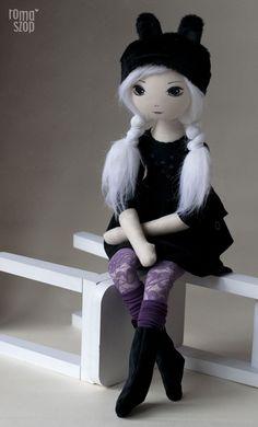 Surika – roma z Trzeciej Sopli, handmade doll by romaszop